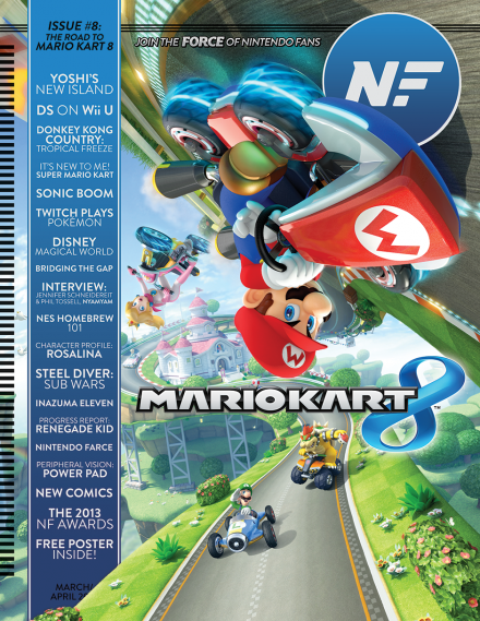 Issue 8 of Nintendo Force. My very first published work. (Yes, my mom is very proud.)