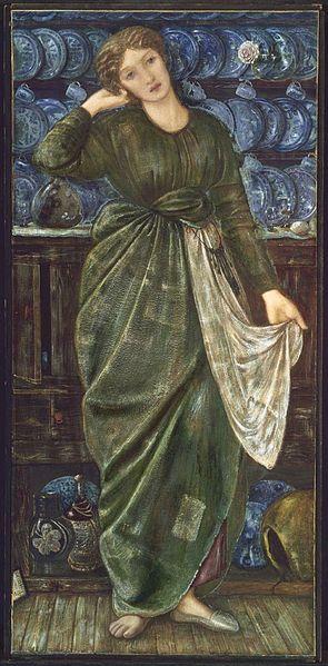 Cinderella, Edward Burn-Jones (1863)