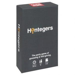 Hintegers.