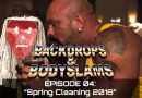 Backdrops and Bodyslams Episode 004: Spring Cleaning 2018